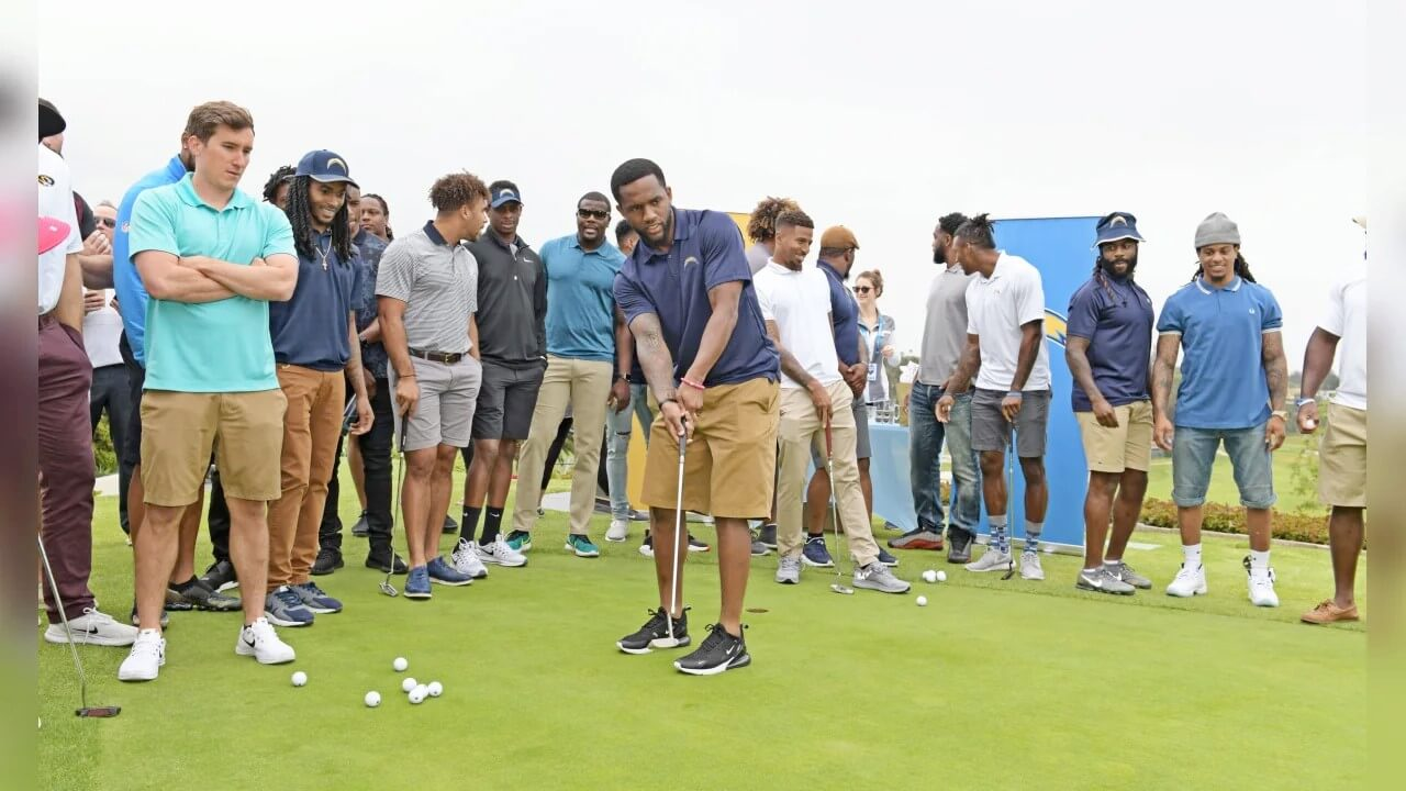 Chargers Host 2nd Annual Golf Tourney (VIDEO)