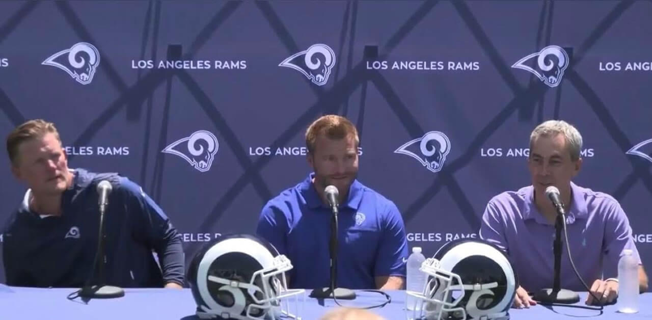 Rams Extend McVay and Snead Through 2023