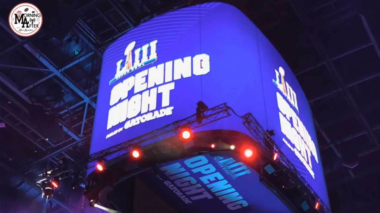 Super Bowl LIII Media Night was Historic (VIDEO)