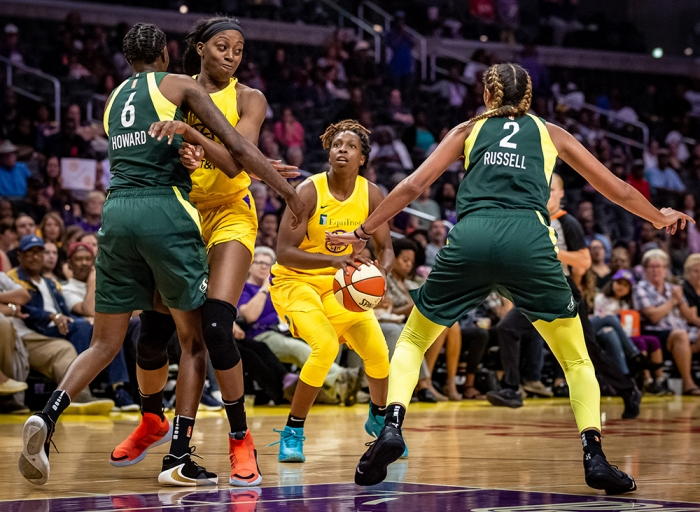Sparks Clear Storm Out of Playoffs (VIDEO)