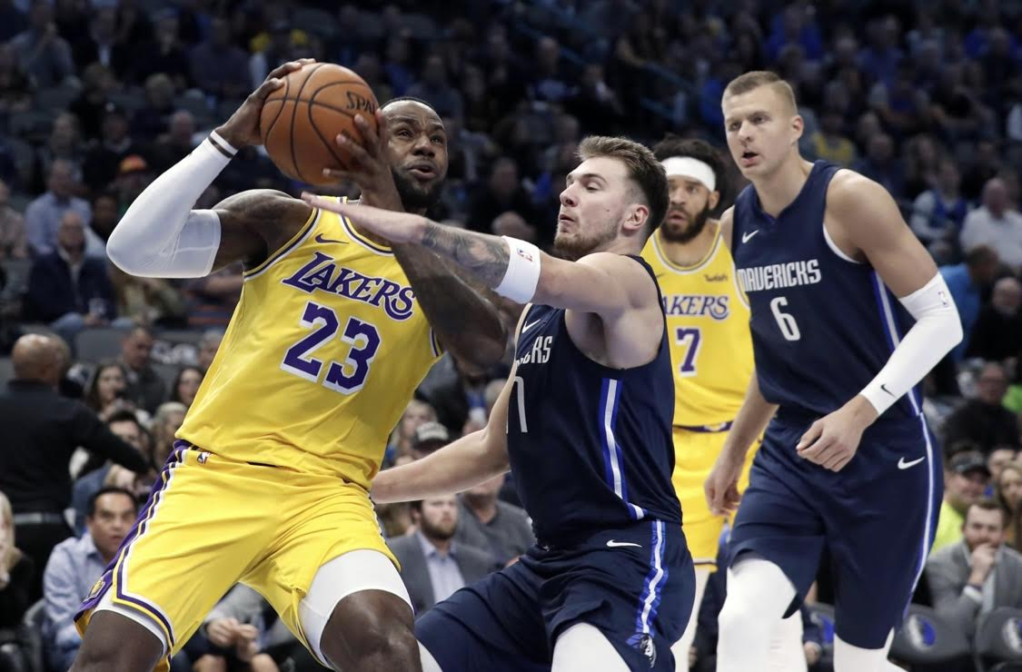 Lebron James Is A Machine For Lakers (VIDEO)