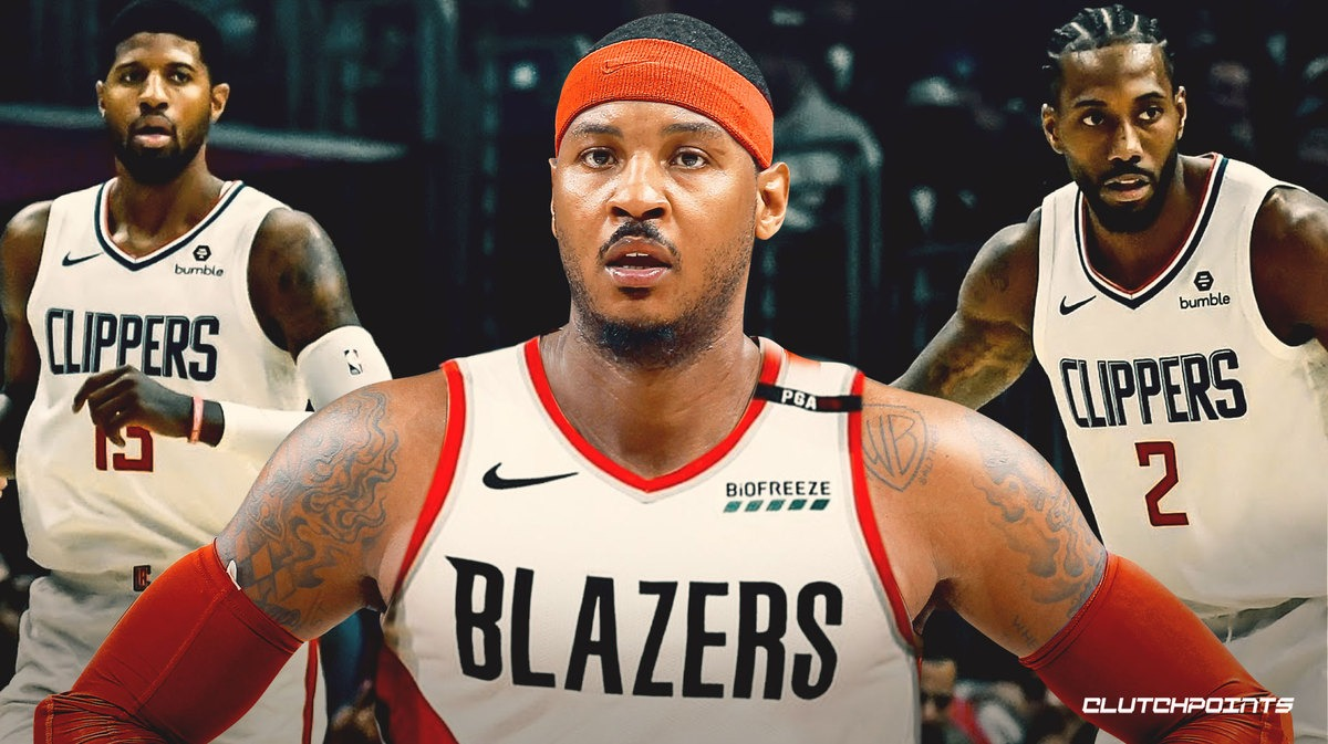 Carmelo Anthony Gets Respect From Clippers and Blazers (VIDEO)